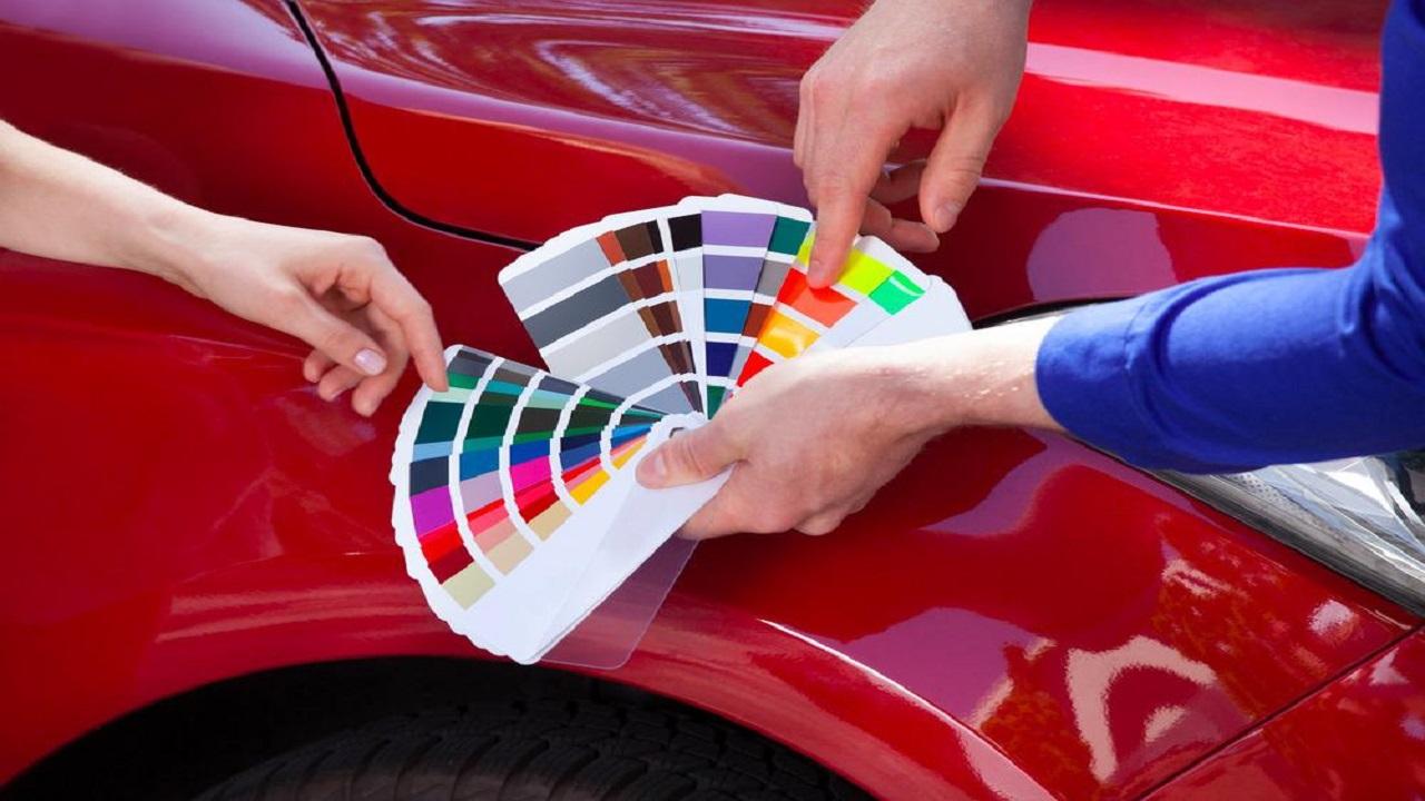 عوامل موثر در رنگ خودرو